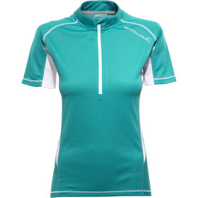 Endura Pulse Trikot kurzarm Damen aquamarin